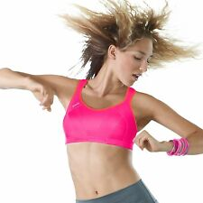 Shock Absorber Womens Pink 'Active' Support Sports Bra From Debenhams