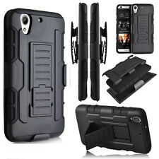 NEW Shockproof Hybrid Armor Belt Clip Holster Case Cover for HTC Desire 626 530