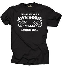 Awesome Mama Mother T-shirt Gift for Mom