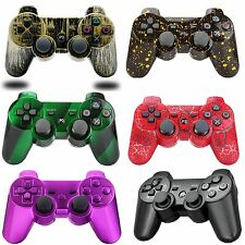 PS3 Joypad Wireless Bluetooth Remote Console Controller Double Shock Vibration