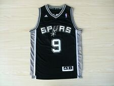 NEW Tony Parker San Antonio Spurs #9 Embroidered Replica NBA Basketball Jersey