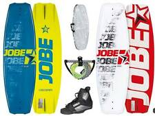 Jobe Logo Wakeboard Package 138 Red Blue Bindings Rope Bag Jetski Boat Cable