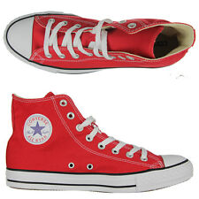 Converse - All Star Chuck Taylor Hi Tops Shoes/Red