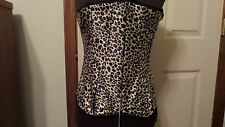Womens  Corset Bustier Top's SEXY Size Medium  Matching Thong Color Choices