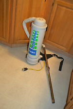 CASTEX PORTAPAC Backpack Vacuum Cleaner Commercial Industrial Janitorial