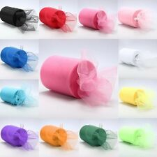 "6""x 25yd Tulle Roll Spool Tutu Wedding Party Gift Fabric Craft Decorations Pop"
