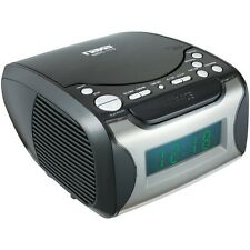 Digital Alarm Clock Radio & CD Player