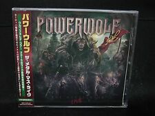 POWERWOLF The Metal Mass Live JAPAN CD Sun Caged Flowing Tears German Metal !