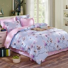 Floral Duvet/Doona/Quilt Cover Set Single/Double/Queen/King Size Bed Covers New