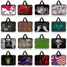 """15"""" 15.4"""" 15.5"""" 15.6"""" Notebook Laptop Carry Sleeve Bag Soft Case Cover w/Handle"""