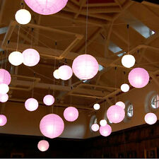 Multicolor Round Chinese Paper Lanterns Wedding Party Home Event Bar Decoration