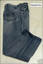 Boys Adjustable Waist Blue Jeans-Regular & Husky-NWT