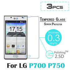 3x Ultra Clear HD LCD Screen Protector Guard Cover Film For LG Optimus L7 P700