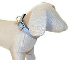Cani A Mici My Lord Leatherette Dog Head Collar Turquoise Faux Leather S M L XL