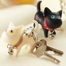 Vogue Ornament Wedding Cat Kitten Keychains Cute Lovers Key Rings Chain Bag