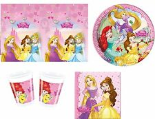 Disney Princess Storybook Birthday Party Napkins Plates Cups Tablecover