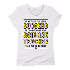If At First You Dont Succeed - Adult LADIES SHORT SLEEVE TEE