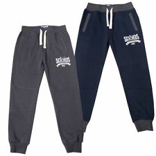 Boys Cuffed Elasticated Draw String Joggers Skechers sizes 4-9 years