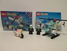 Lego 6664 Vintage Classic Town CHOPPER COPS 100% Complete w/ Box & Manual 1993