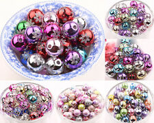 Lots DIY Chic Mixed Carving Acrylic Loose Spacer Bead Charm Making 8/10/12/14mm