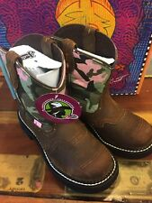 Justin Gypsy 9913Y Youth 1.5 D Cowgirl Boots