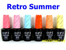 OPI GELCOLOR UV/LED RETRO SUMMER COLLECTION* Choose Any Colors
