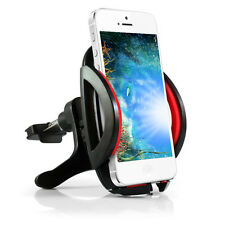 Red MD260 360° Car Air Vent Mount Cradle Holder Stand For Cell Phone GPS Samsung