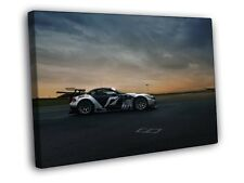 Nissan 350Z Tuning Car Sports Racing HDR Photo FRAMED CANVAS Print