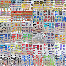 GT Reproduction BMX Decal/Sticker Sets, 1990's Mid/Old School, Loads Of Designs!