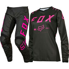 Fox 2017 Mx Youth NEW 180 Black Pink Jersey Pants Girls Motocross Gear Set
