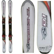 Skiing occasion junior Rossignol bandit white + fixings