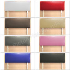 FAUX LEATHER VICTORIA HEADBOARD ALL SIZES & COLOURS AVAILABLE CHEAPEST ON EBAY !