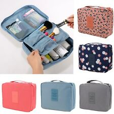 Travel Makeup Cosmetic Toiletry Case Wash Organizer Storage Pouch Hanging Bag LM