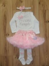 ROMANY BLING BABY GIRLS PINK TUTU SET WITH MATCHING TIGHTS AND HEADBAND