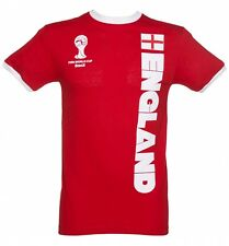 Men's Red FIFA World Cup England Ringer T-Shirt
