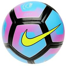 Nike Premier League Football Pitch 2016 to 2017 Football Blue Pink Size 3 4 5