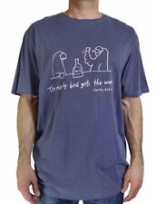 NWT TOMMY BAHAMA MEN'S GRAPHIC TEE 'EARLY BIRD GETS THE WORM' S/S NVY/VIOLET