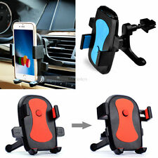 New Blue -MD253 360° Car Air Vent Mount Cradle Holder Stand For Cell Phone Apple