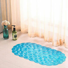 PVC SHOWER MAT BATH MAT BATHROOM ANTI NON SLIP SUCTION SHOWER BATHROOM SAFETY