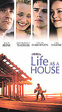 Life as a House (VHS, 2002) Kevin Kline Kristin Scott Thomas Hayden Christensen