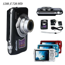 2.7inch TFT LCD 1280x720 HD 15MP 3X Optical Zoom Anti-shake Digital Video Camera