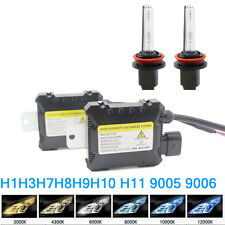 55W Xenon HID Replacement Kit H1/H3/H4/H7/H8/H/9H11/H10/9005/9006 Slim Ballast