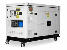 New 12.5kVA Diesel Silent Generator 3 Phase ships to NZ only