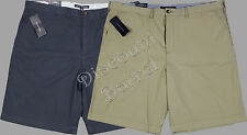 NWT Mens Tommy Hilfiger Flat Front Chino Shorts Variety Size 36 38 40 42 Classic