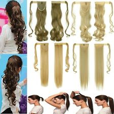 Barbie Long Wrap Around Clip in Hair Extension Ponytail as Human Pony Tail H811