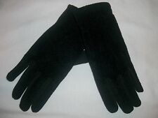 NEW CHARTER CLUB/MACYS BLACK TEXTURED TOP DRIVING GLOVES ONE SIZE FITS MOST