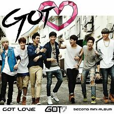 GOT7 - Got Love ♡ (2nd Mini Album) [CD + Booklet + Photo + Poster + Gift]