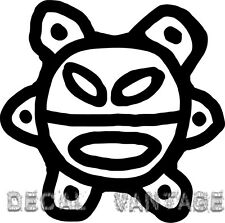 Sol Taino Vinyl Sticker Decal Puerto Rico Boricua Coqui Sun Choose Size & Color