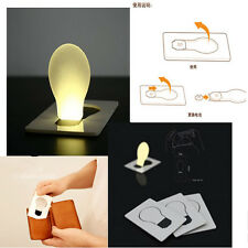 Novely Portable Pocket LED Card Light Lamp Put In Purse Wallet Convenient Light