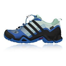 Adidas Terrex Swift R Womens Blue Gore Tex Waterproof Walking Hiking Shoes
